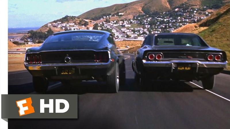 Bullitt 1968 Ford Mustang vs Dodge Charger Scene 5 10 Movieclips
