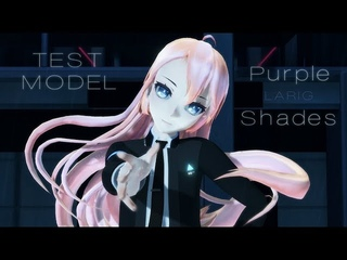 MMD   LUKA RK800   Purple Shades   TEST MODEL