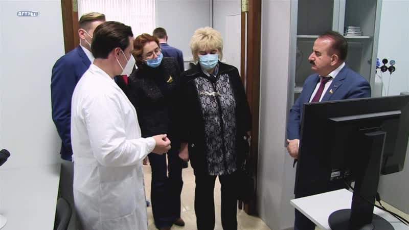 Прибытие вице президента РАН Ирины Донник