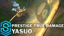 Prestige True Damage Yasuo Skin Spotlight Pre Release League of Legends