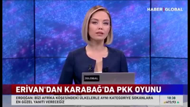 Türk mətbuatı: Ermənistan Iranın köməkliyi ilə PKK terror ularını Dağlıq Qarabağa yerləşdirir .