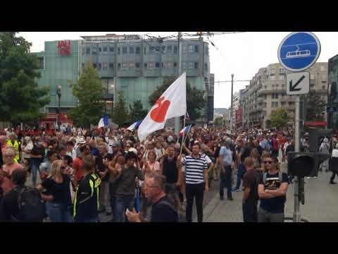 Manifestation Clermont Ferrand 25 septembre 2021