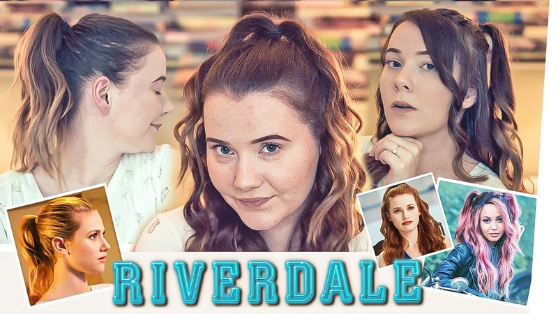 9 RIVERDALE HAIRSTYLES | Frisur Locken Tutorial von Betty, Veronica, Cheryl und Toni