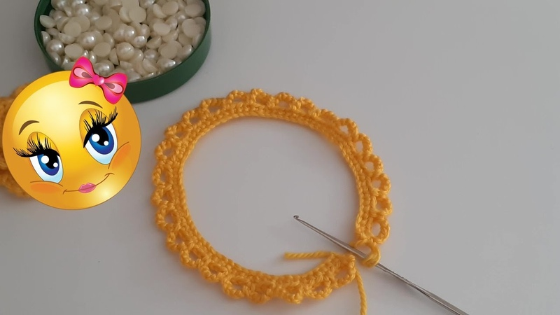 EN KOLAY GÜL YAPILIŞI YELEK PATİK GÜLÜ ÖRGÜ ROSE The easiest rose knitting crochet making narration