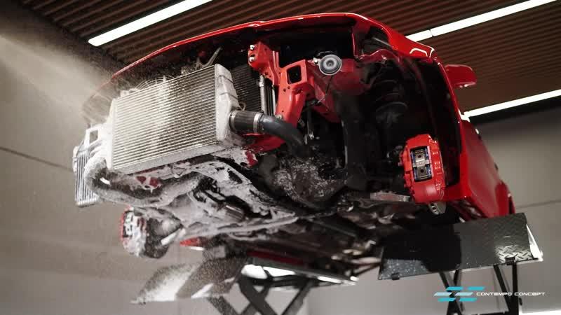 Contempo Concept Mitsubishi Lancer Evolution VI Tommi Makinen Edition Restoration
