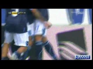 Serie A 2010 2011 Чезенна 1 4 Наполи 5 тур