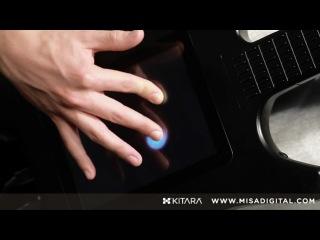 Жалкая породия на гитару. Ну прям приставочная попсовая Хиро Гитар))) Misa Digital's stringless Kitara