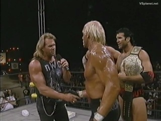 WCW Hog Wild 1996 Booty Man's Appearence