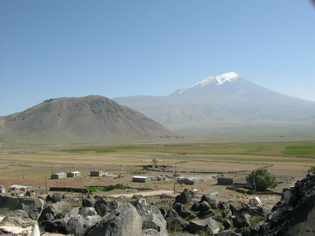 Арарат с дороги Догубаязит - Ыгдыр