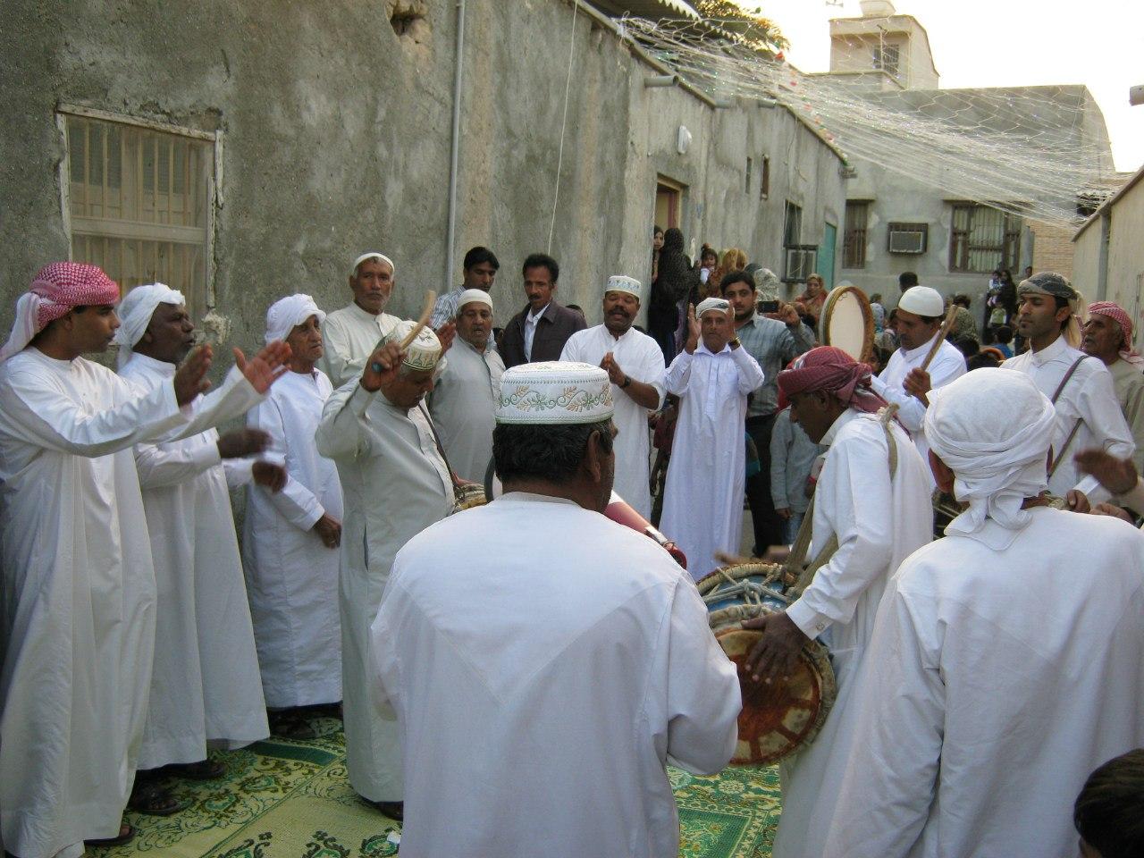 предсвадебный обряд арабов