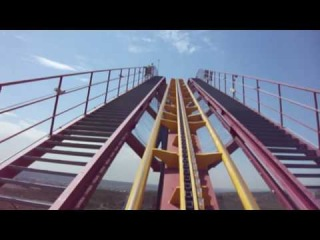 Superman - Parque Warner Madrid - POV Onride - HD