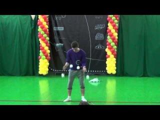 Серёжа 3ье место день жонглёра