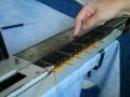 Вязание ажурных узоров на вязальной машине Нева 2