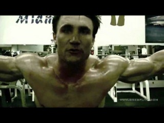 Greg's workout - biceps iii
