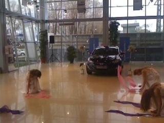"шоу-балет MOLOKO "" Презентация Hyundai Elantra New"""