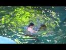 Цирк на воде.номер с крокодилом