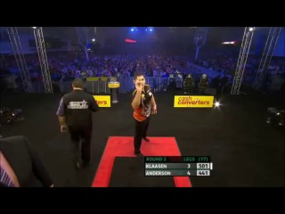 Jelle Klaasen vs Gary Anderson (Players Championship Finals 2013 / Round 2)