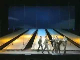 """Мюзикл """"Норд-Ост"""". Танец летчиков"""