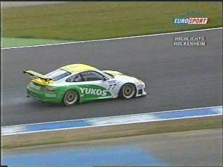 FIA GT 2004 Этап 4 Хоккенхайм Обзор телеканала Eurosport