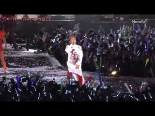 G-DRAGON CRAYON FANTASTIC BABY Psy's Concert English Sub & Romanji GeriWuvGDragon's channel