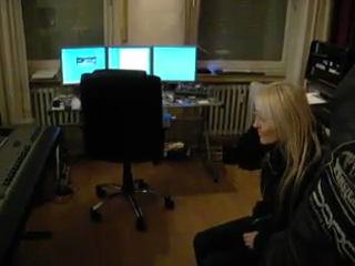 Doro в студии The Night Of The Warlock