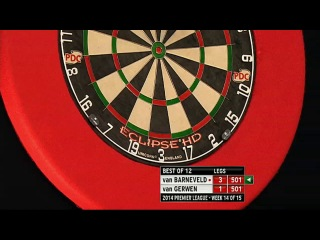 Raymond van Barneveld vs Michael van Gerwen (2014 Premier League Darts / Week 14)