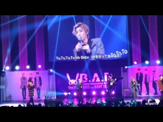 """[fancam:fan event] 140331 b.a.p - b.a.b.y @ фанмитинг """"the first date with baby japan"""" в токио (япония)."""