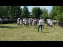 Танец выпускников 9 и 11 классов на последний звонок -