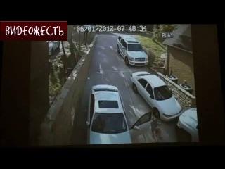 Машина наказала тупую хозяйку (тп) © ВИДЕОЖЕСТЬ