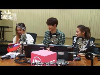 [140315] MBC C-Radio Idol True Colours, в гостях Хичоль 1/4 [русс. саб]