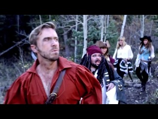 Peter hollens & gardiner sisters (a capella) pirates of the caribbean medley