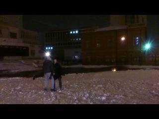 как разбить статую из снега головой Германа