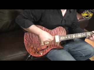 PRS Private Stock Singlecut Hollowbody II (#1685) at World Guitars