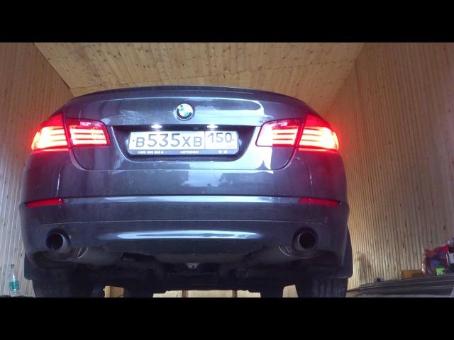 BMW 535xi F10 Twin Turbo M Performance Exhaust 2012