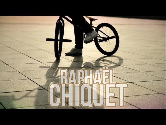 BMX Flat Raphaël Chiquet world champion