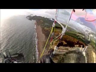 Paragliding at Eype 2012