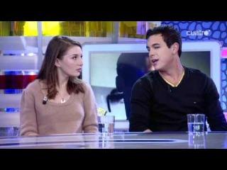 El Hormiguero (1-12-2010) Mario Casas y María Valverde
