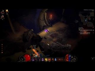 Diablo 3 epic tank, hit point never back down)