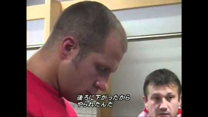 Фёдор смотрит бой брата Александра с Кро Копом и очень не доволен