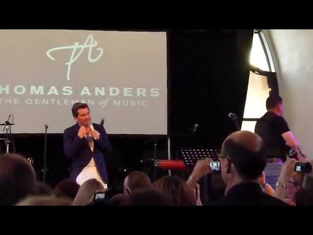 Thomas Anders - Es geht mir gut heut Nacht (Acoustic Version - International Fanday 14.06.2014)