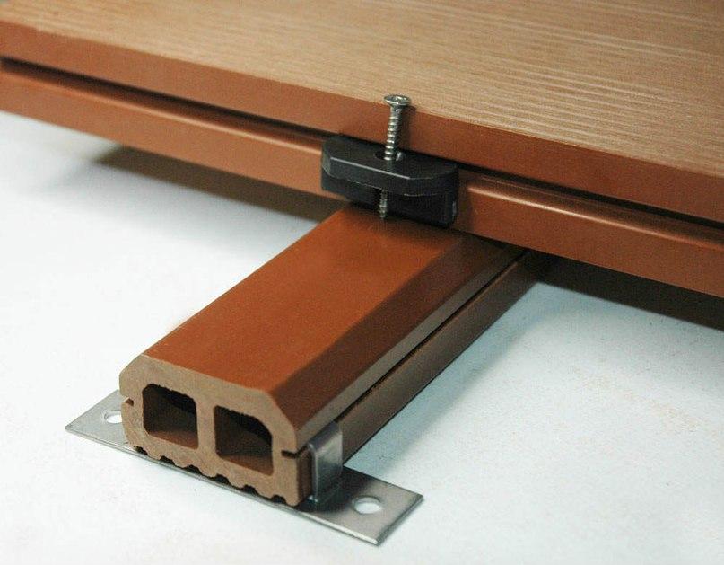 Монтаж террасной доски из древесно-полимерного композита., изображение №2