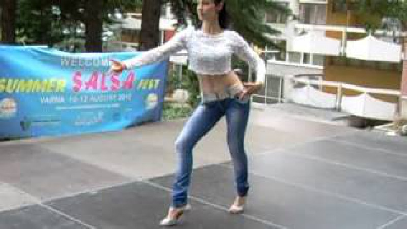 Summer Salsa Fest Varna 10-12.08.2012 - Workshop Monika Stoqnova