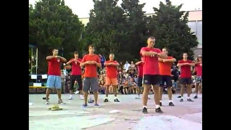 Танец в лагере Танец Физруков