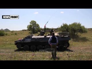 ЛНР начала отвод танков и другой бронетехники от линии соприкосновения