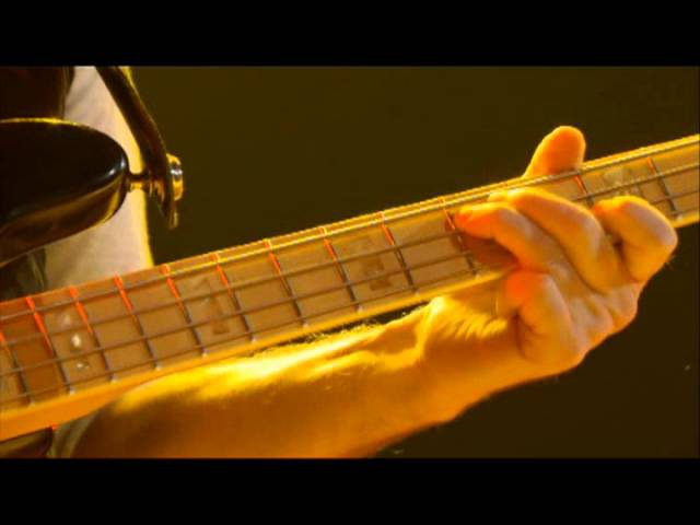 Geddy Lee bass Solo Time Machine 2011