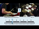 Double Stroke Rolls On The Toms - Free Drum Lessons