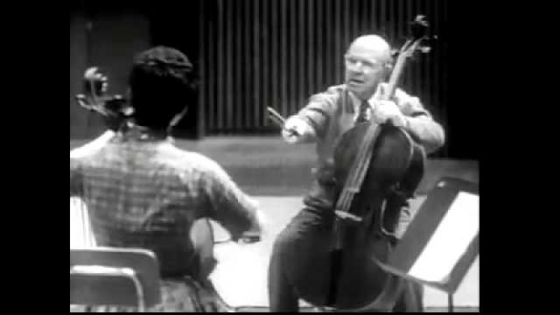 Pablo Casals Cello Interpretation and Technique clip