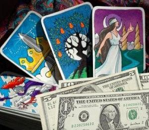 Гадание на привлечение денег с картами архангел карты таро гадание
