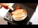 Pocket Cooking - Salmon Steak 4K Tiny Food Mini Food Salmão em miniatura