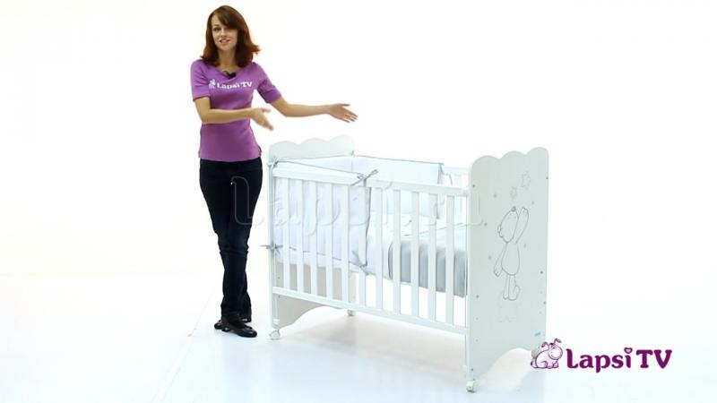 Кровать 120x60 Micuna Promo Oso Polar (Микуна Промо Осо Полар)